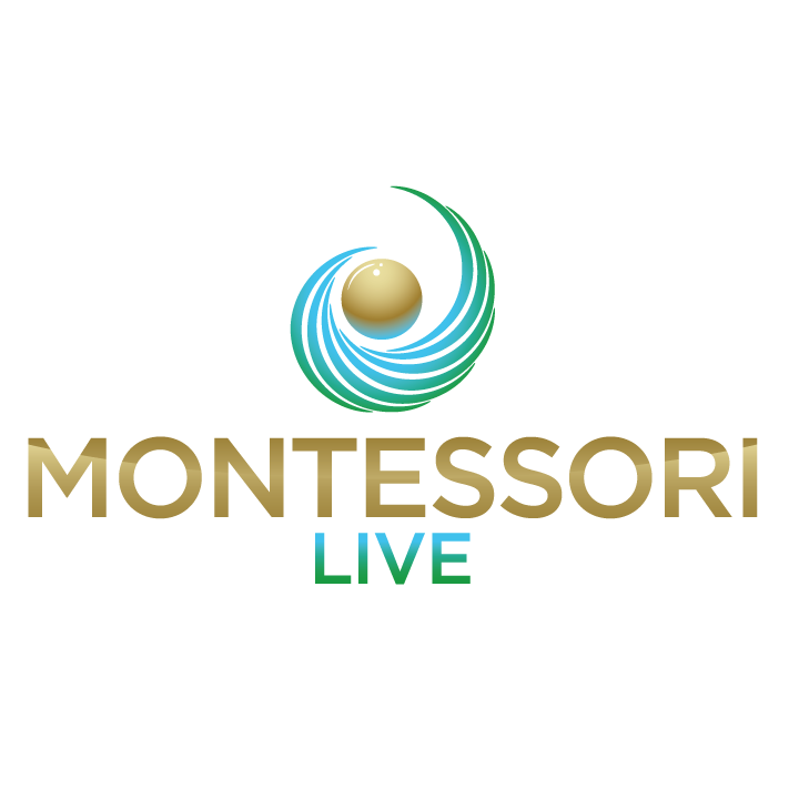 Montessori Live Vertical Logo
