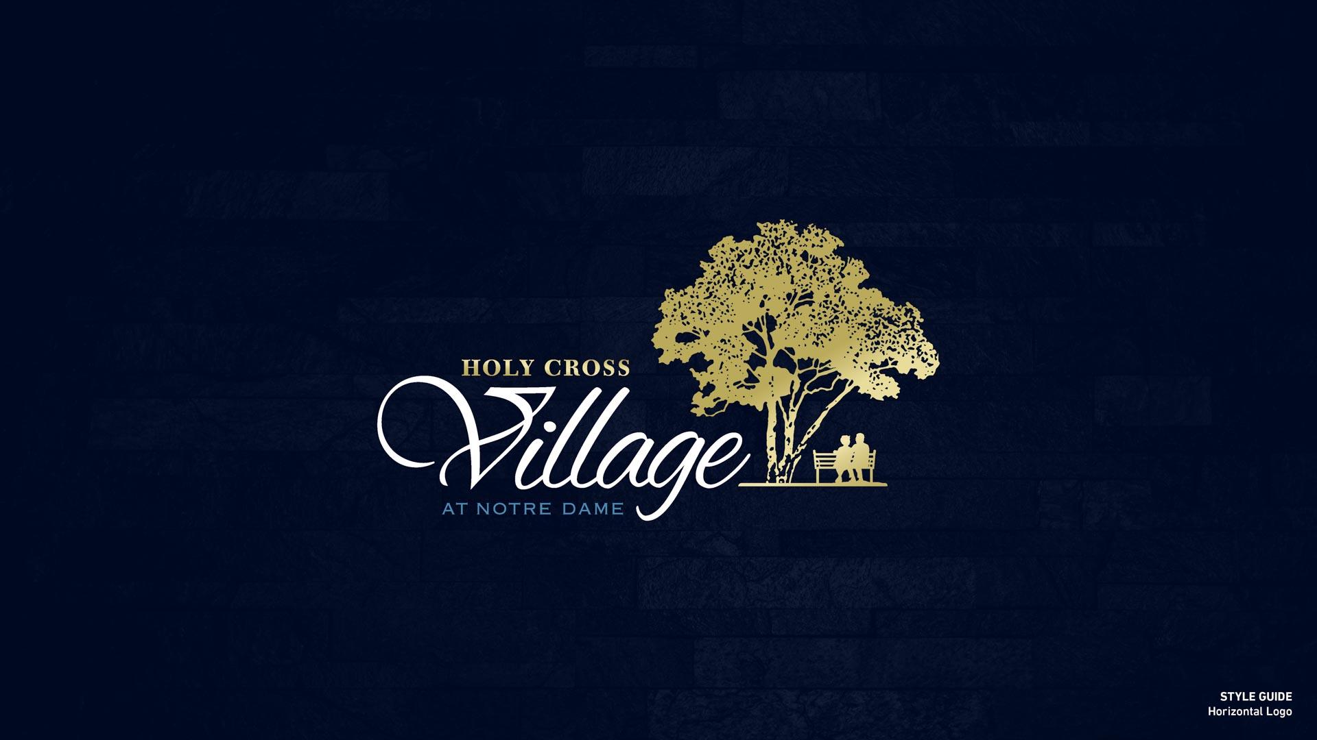 Holy Cross Village's Horizontal Logo