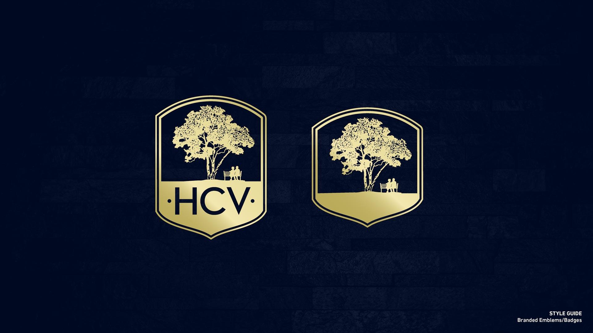 Holy Cross Village's Branded Emblems & Badges