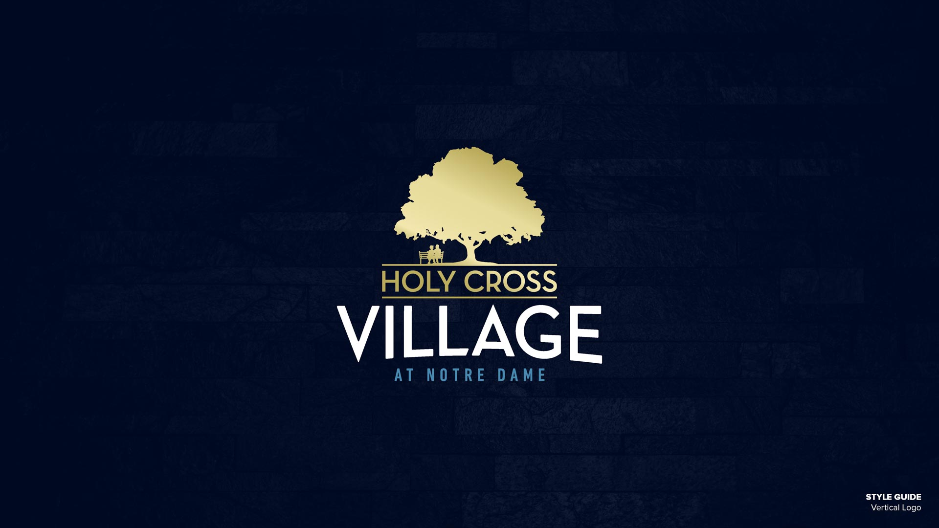 Holy Cross Village's Vertical Logo (Unofficial)