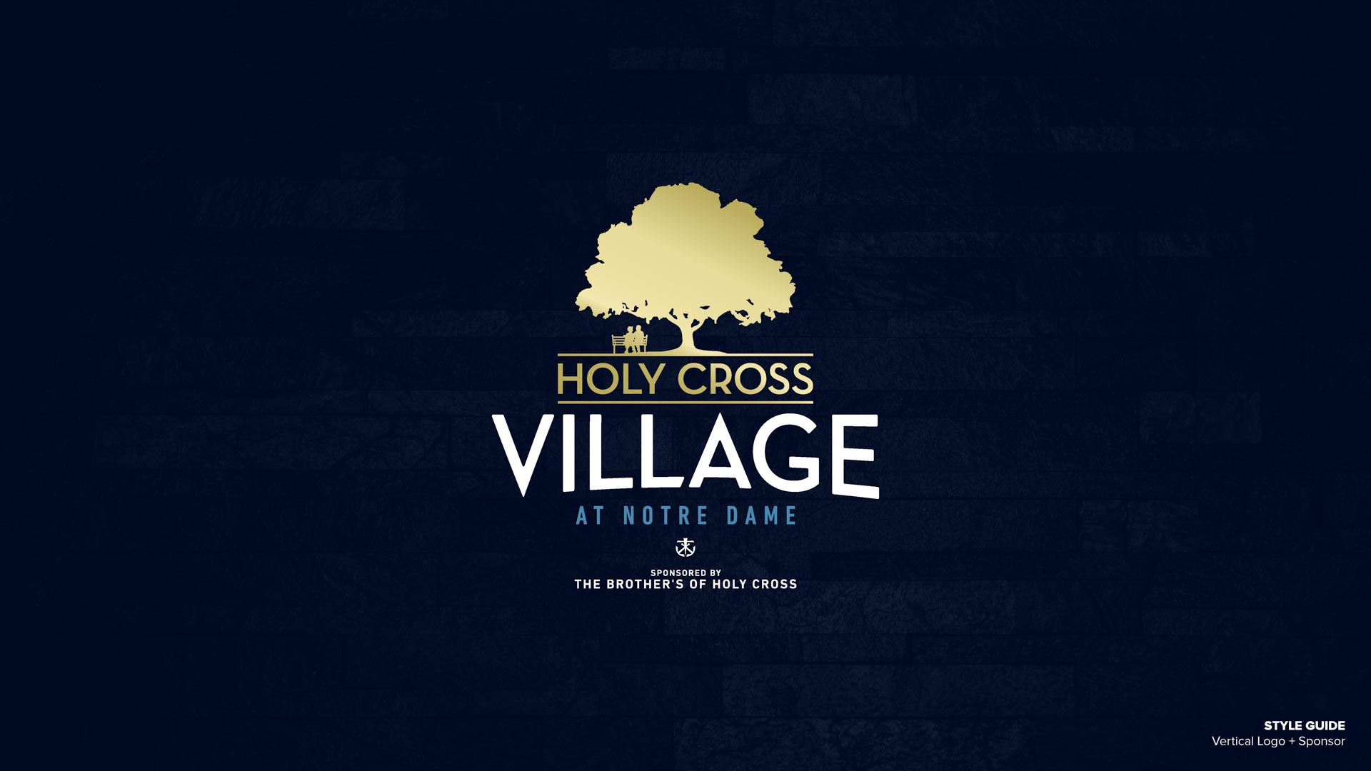 Holy Cross Village's Vertical Logo + Sponsor (Unofficial)