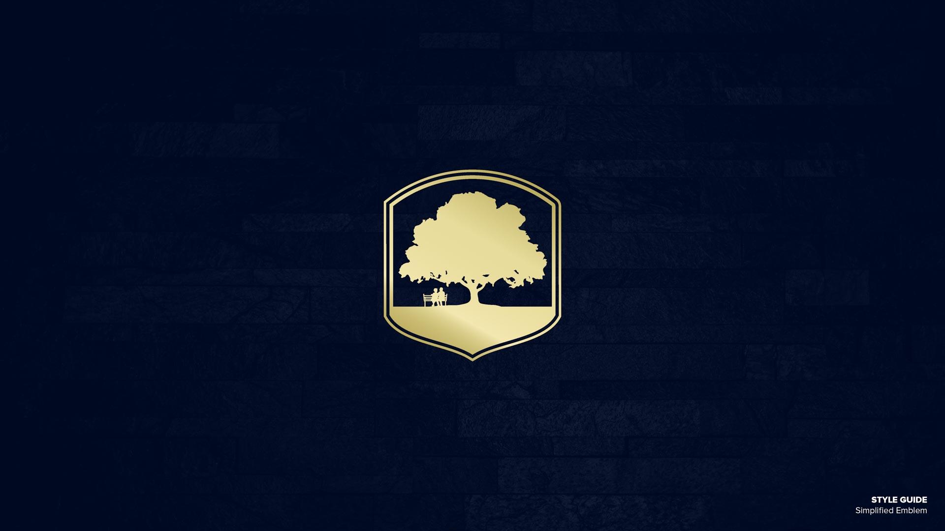 Holy Cross Village's Simplified Emblem